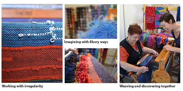 People Weaving Together and SAORI Textiles