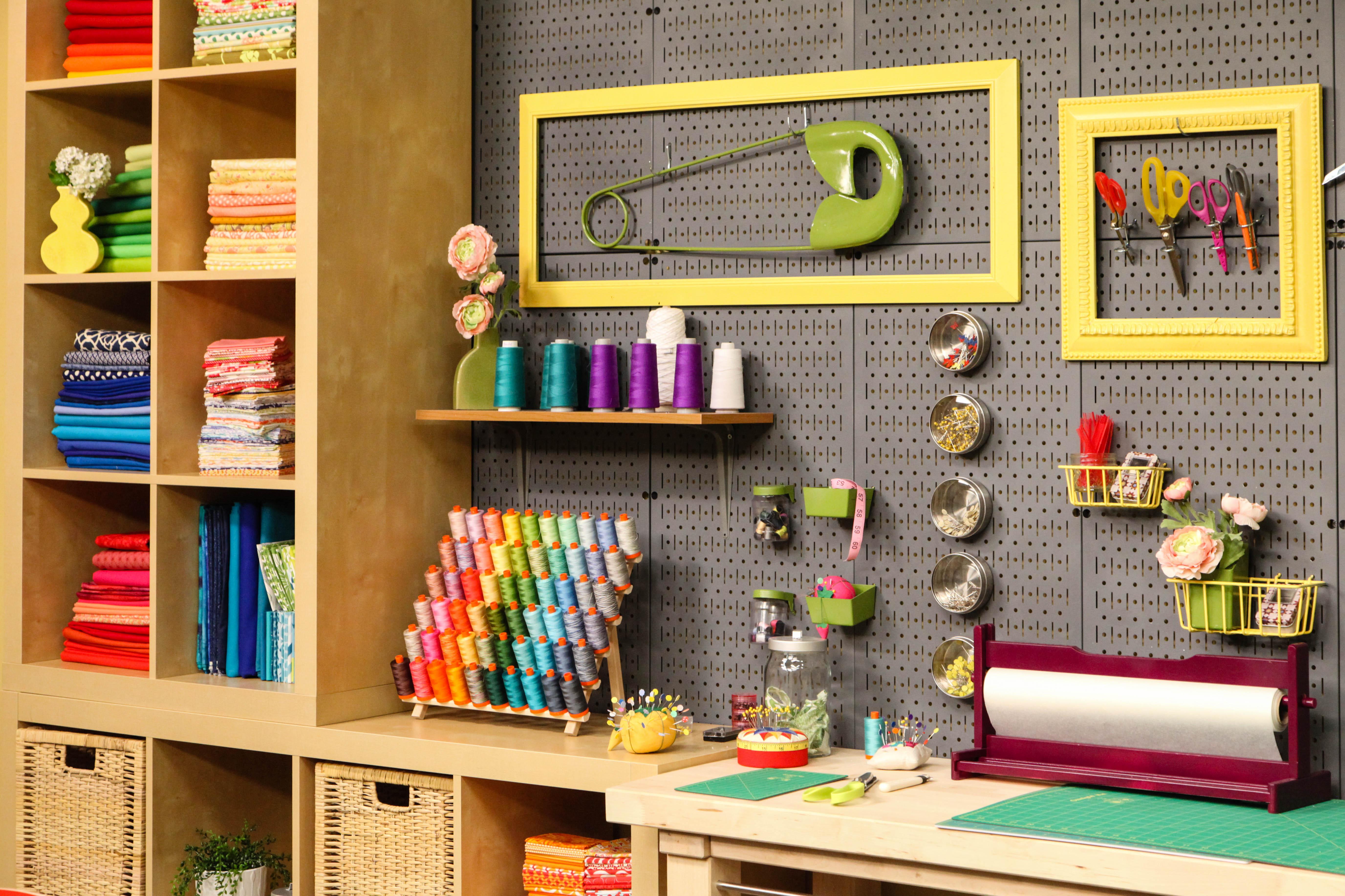 Perfect Organization in the Bluprint Quilting Studio