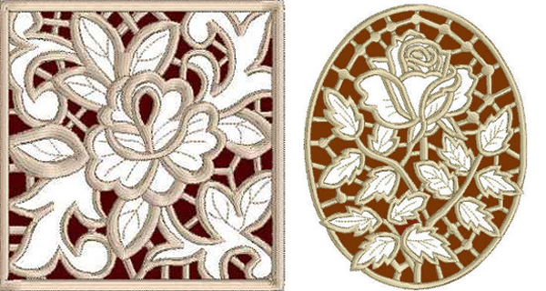 advancedembroidery.com square rose lace rose lace III