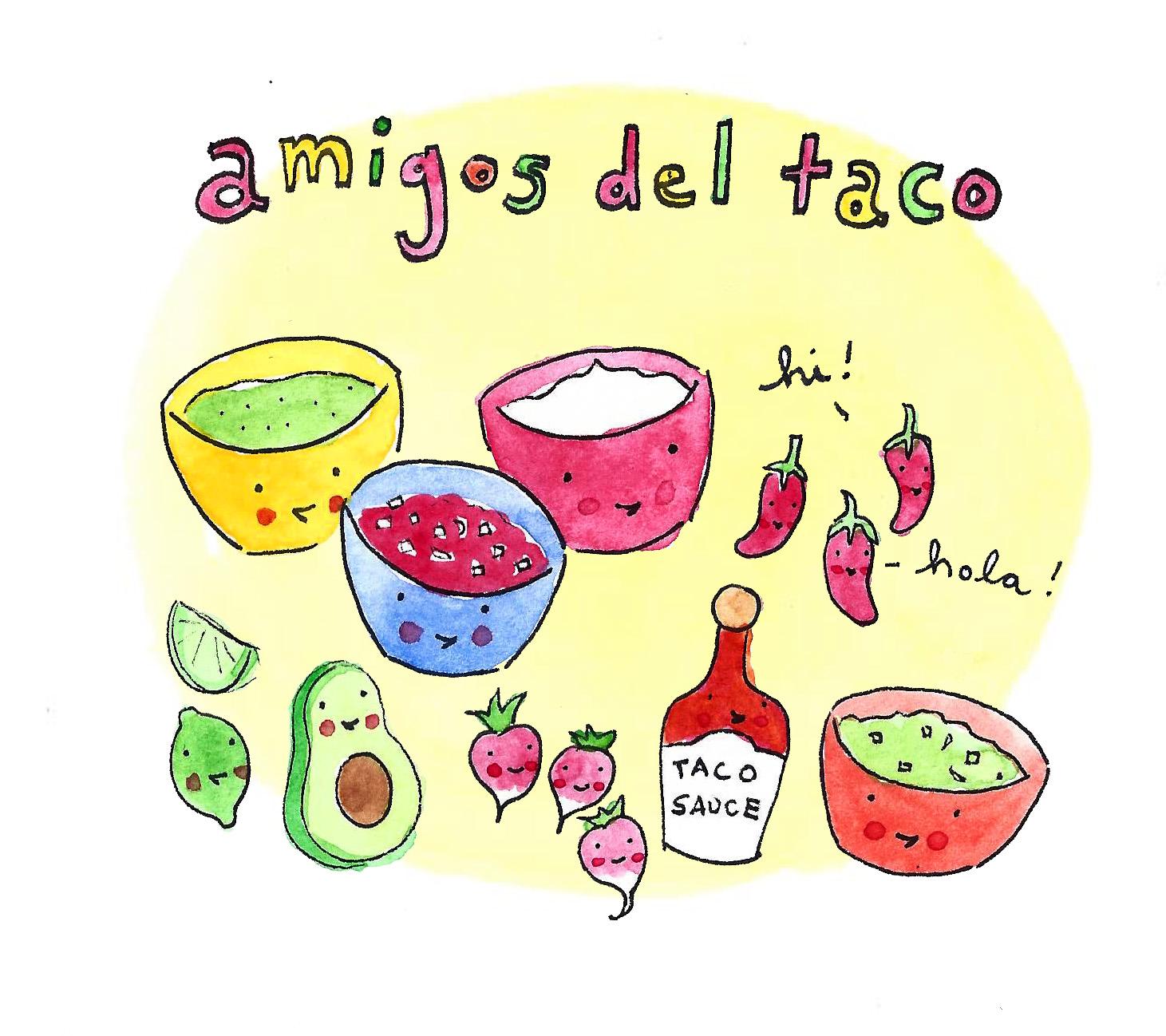 Amigos del Taco - taco toppings