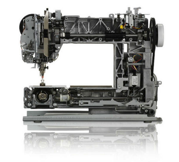 Bernina Machine Cutaway
