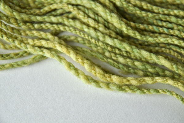 Cabled 4-ply yarn