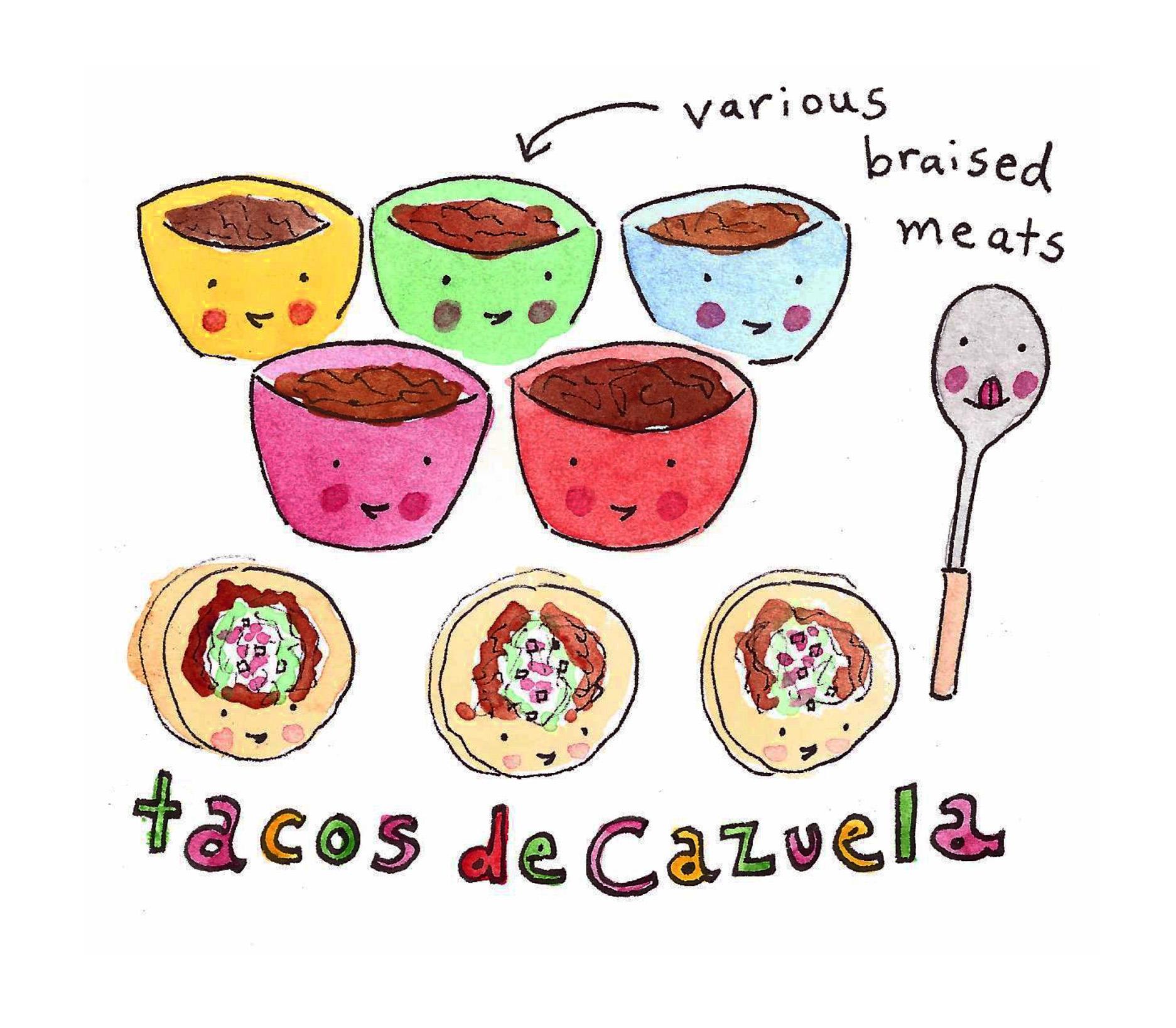 Tacos de Cazuela on Bluprint!