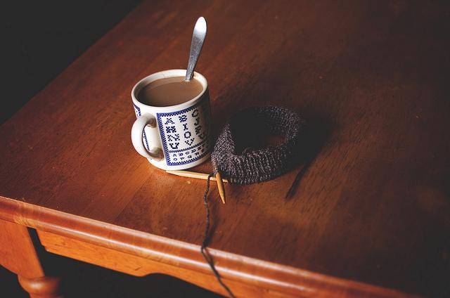 Wool Yarn on a Table