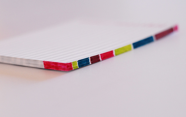 Color Lined Stationery