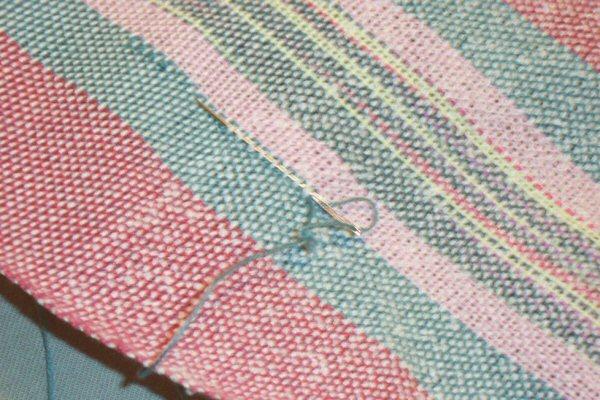 Weaving - Mending a broken end