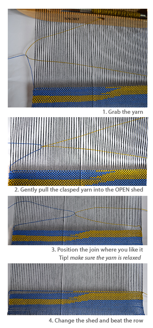 Clasped Weft Weaving Tutorial