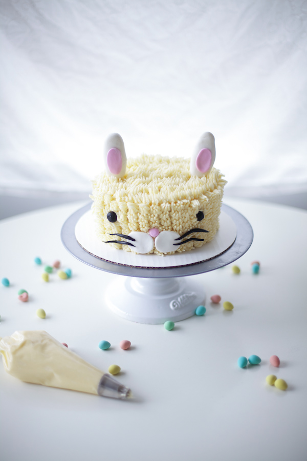 Complete Easter Bunny Layer Cake!