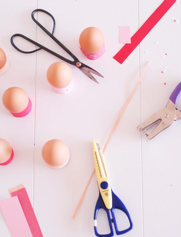 Making Easter Egg Holders