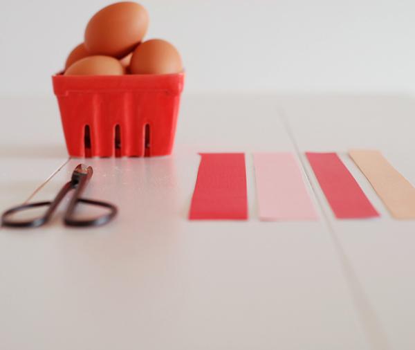 Materials for Making Easter Egg Holders