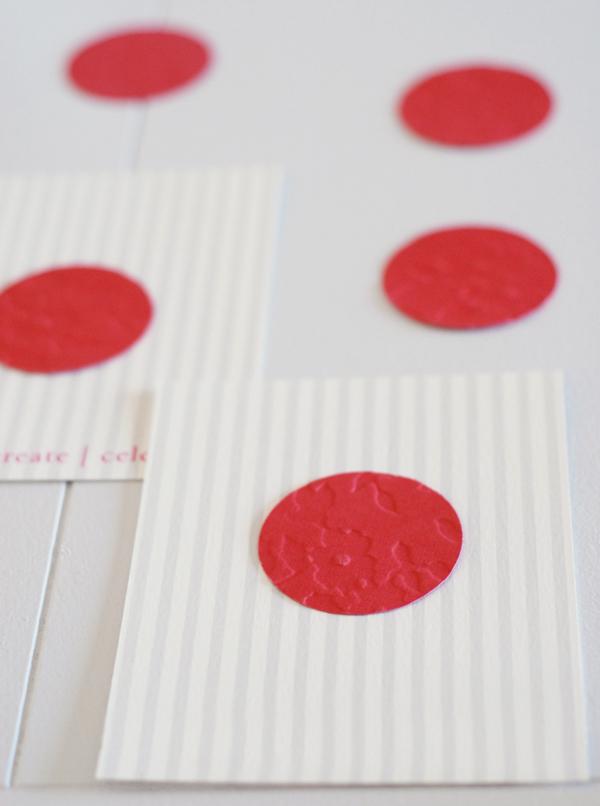 Embossed Paper Circles