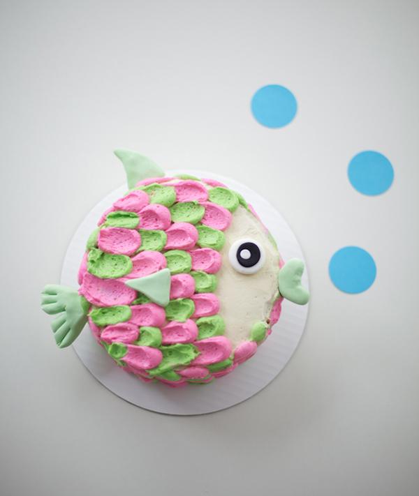 Fish Cake for Birthday Tutorial