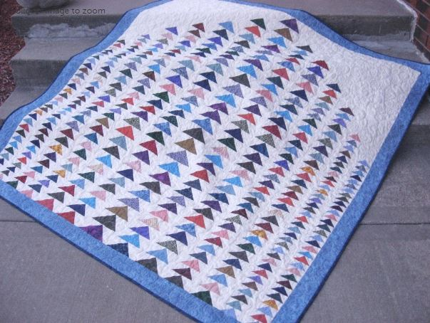 Flying Formation Quilt