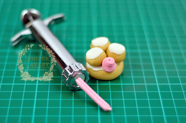 Sweet Parisian pastry cupcake toppers