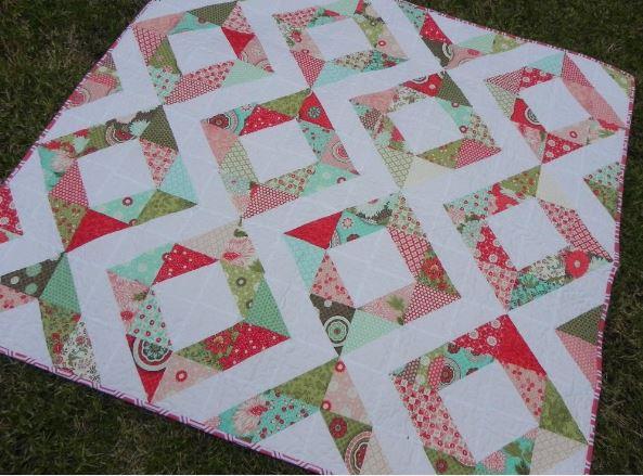 Fresh Diamonds Quilt Pattern