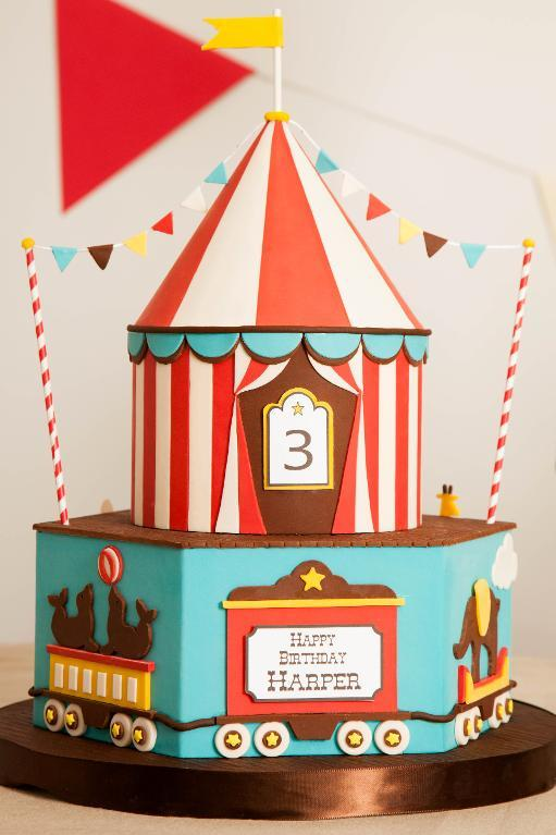 Big Top Cake: Amazing Birthday Cake Ideas on Bluprint