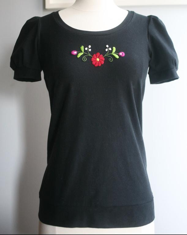 Little Berry Burst & Flowers Embroidery Pattern on Bluprint!