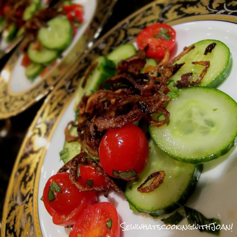Cucumber Side Salad