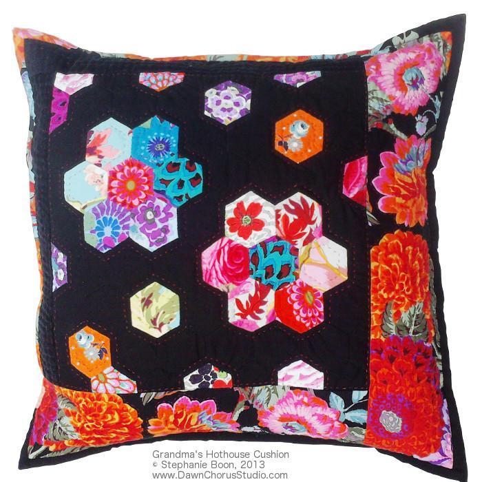 Grandma's Hothouse Cushion Pillow Pattern