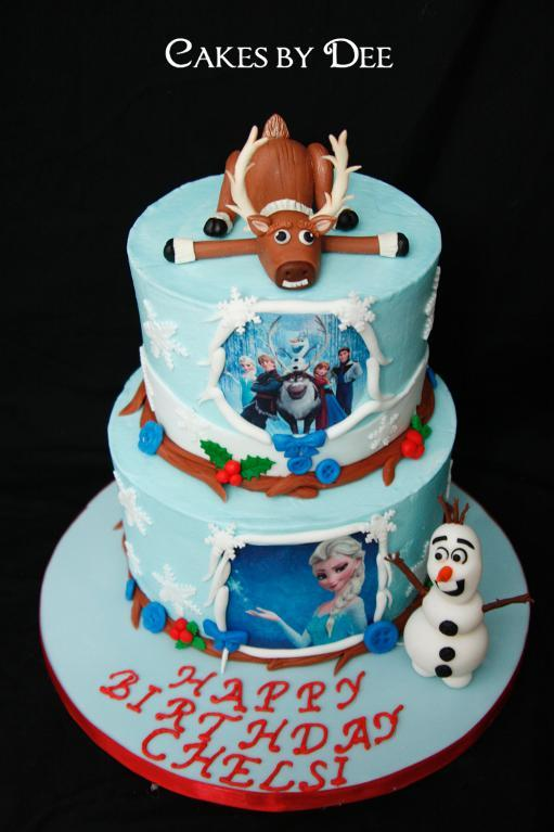 Frozen Birthday Cake on Bluprint.com