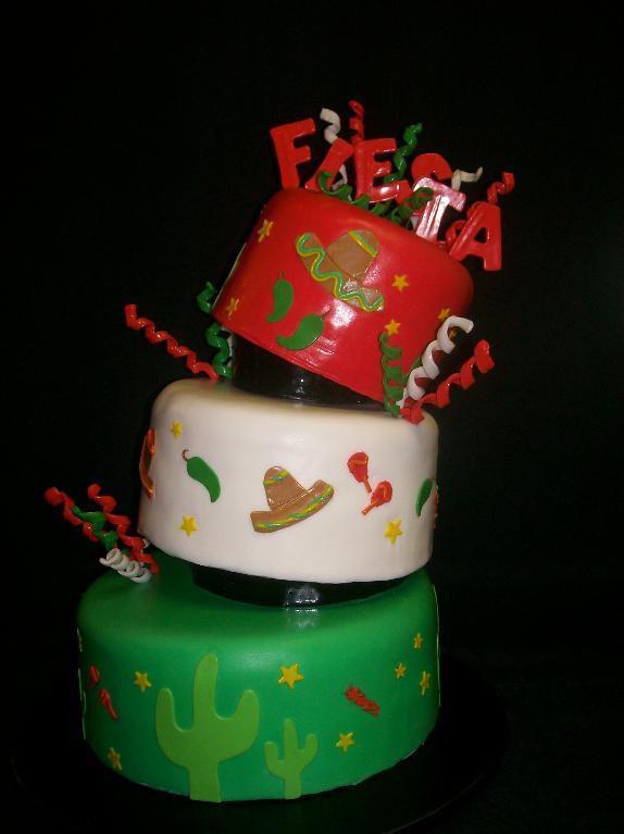Cinco De Mayo Fiesta Cake