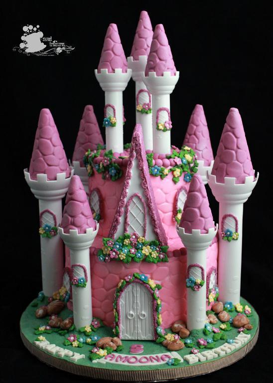 Castle Cake Impression Molded