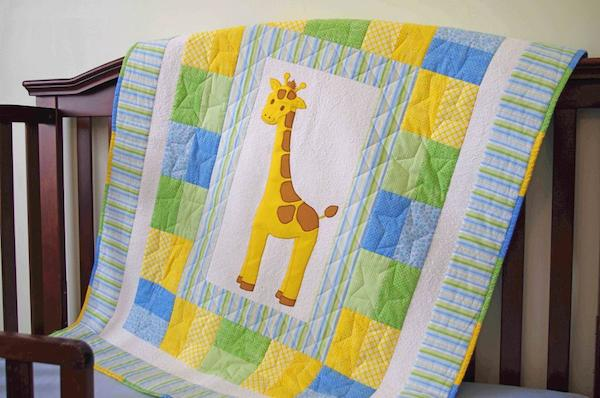 New Baby Quilt Gift
