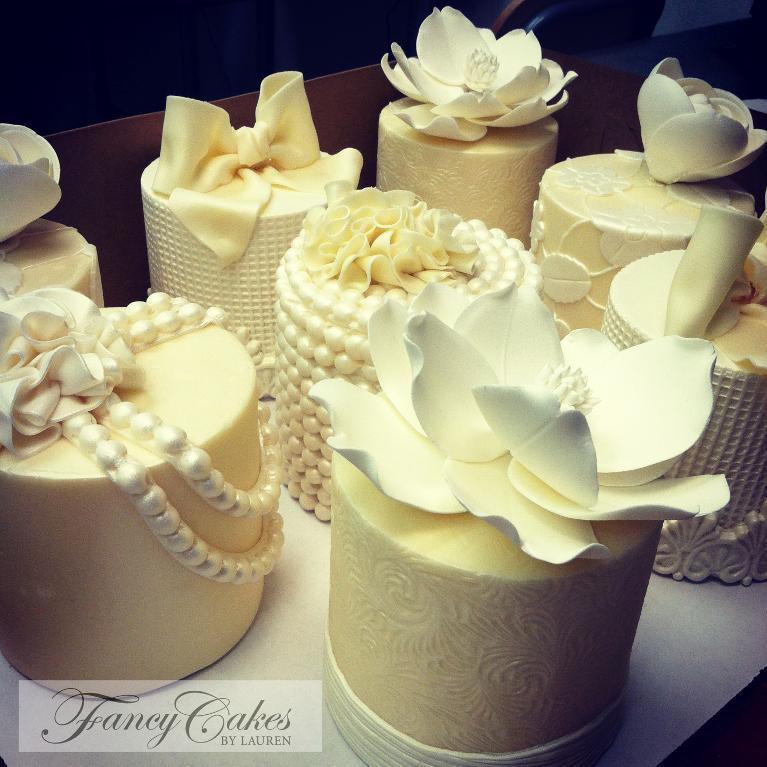 Modeling Chocolate Mini Cakes