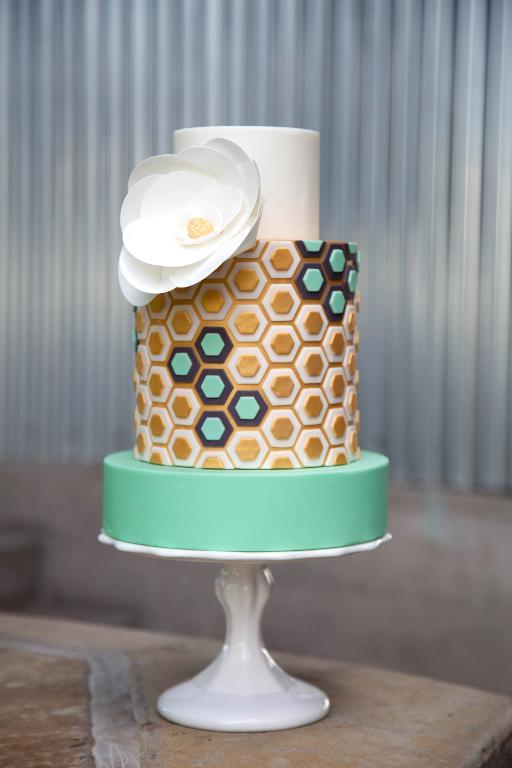 Honeycomb cake by Jessica Harris