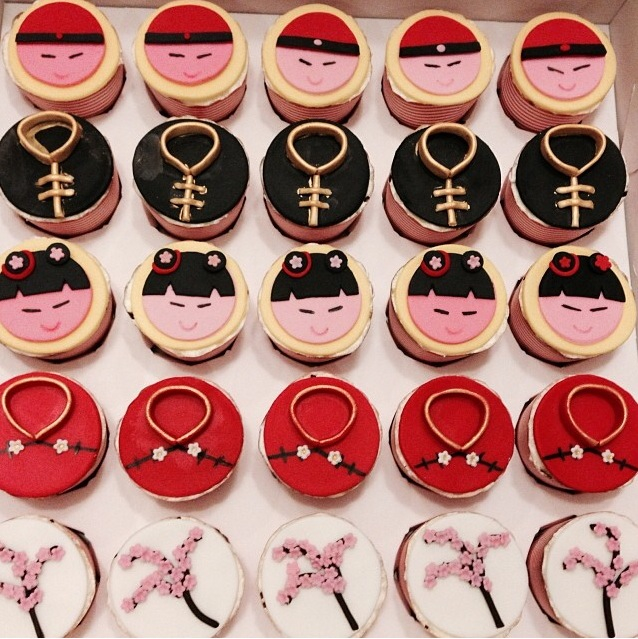 Chinesse New Year Cupcakes