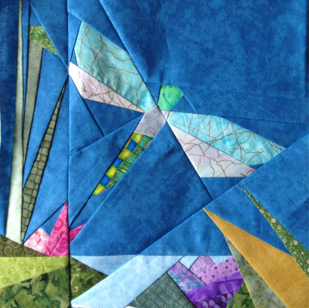 Dragonfly Quilt - Advanced Quilting Pattern