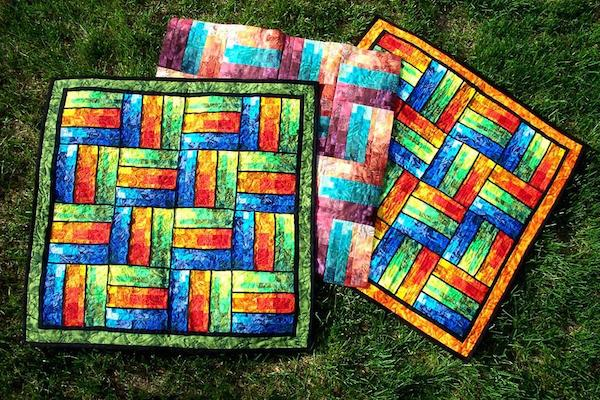 Bargello Rails Quilt