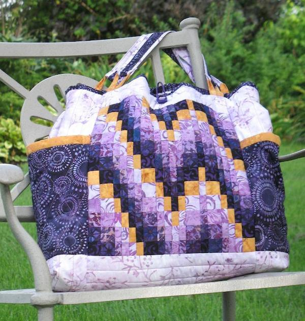 Bargello-To-Go Bag