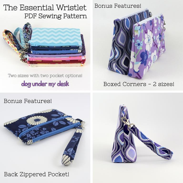 Essential Wristlet Pattern