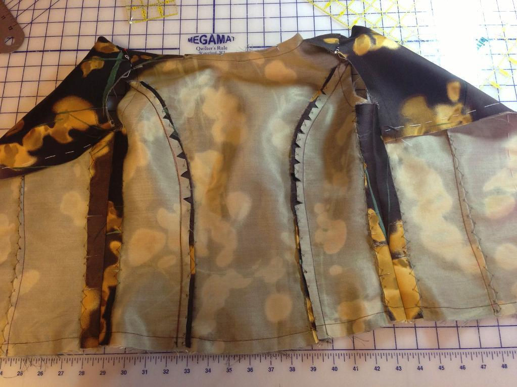 Dress bodice with underlining - Bluprint Member Project