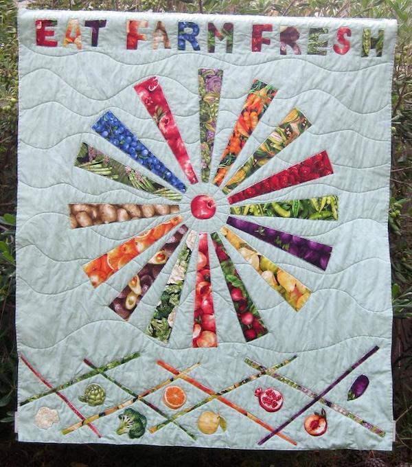 Eat Farm Fresh Quilt