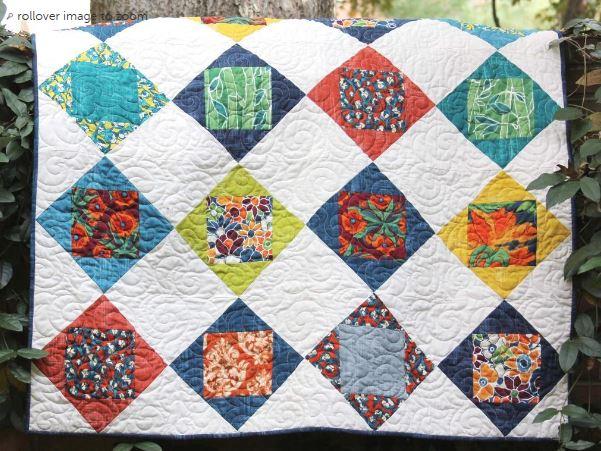 Garden Windows Quilt Pattern