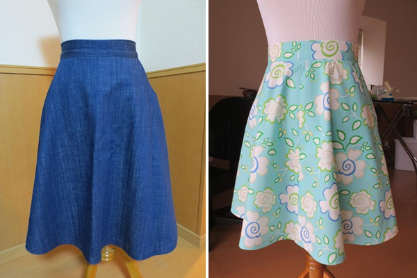 A-Line Skirts and Patterns