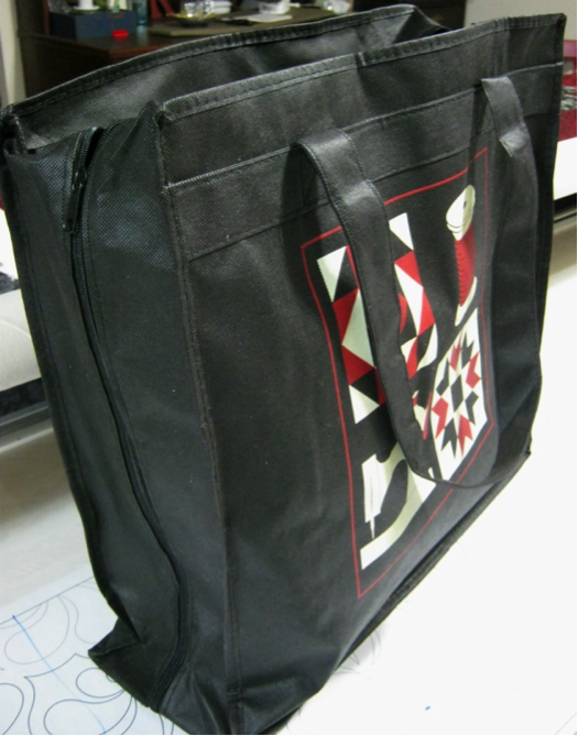 Bag for long-term quilting storage
