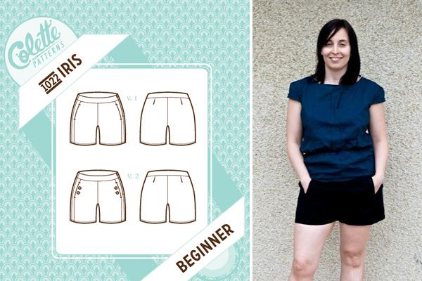 Iris Shorts Pattern and Project