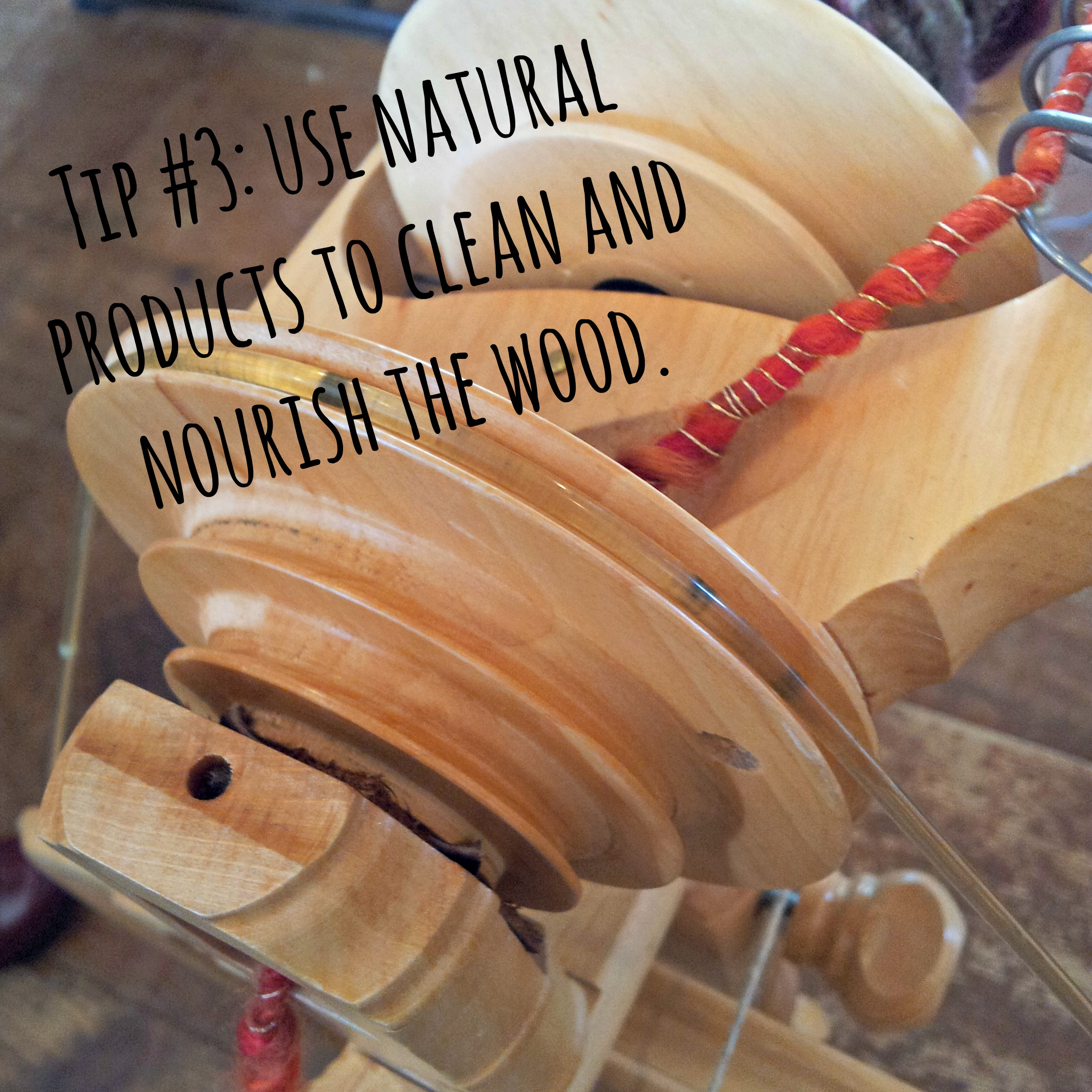 Use Natural Products to Clean and Nourish the Wood