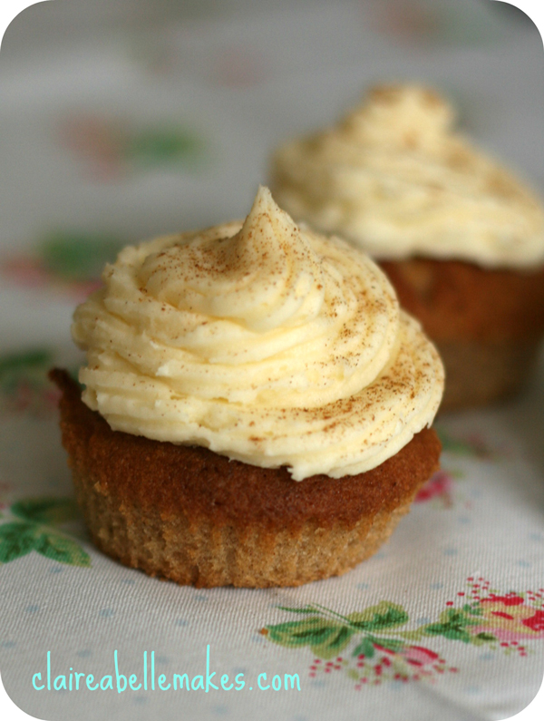Maple Cinnamon Cupcakes