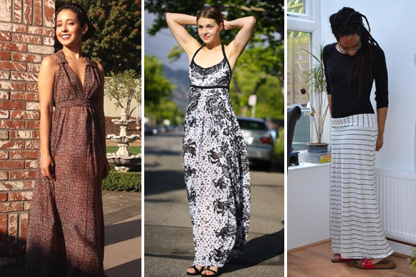 Maxi Dresses: Sewing Patterns and Projects on Bluprint!