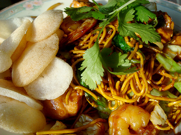 Plate of Mie Goreng - Craftsy.com