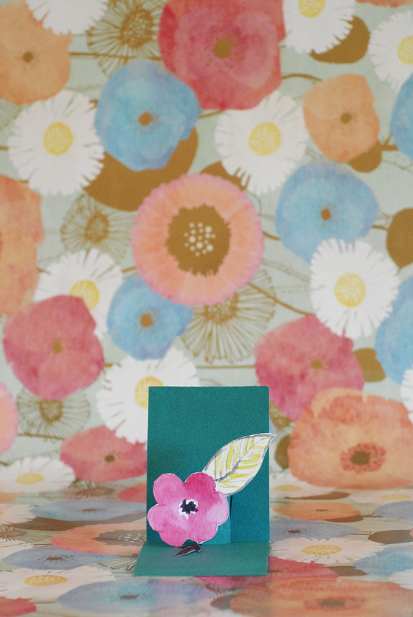 Pop Out Flower Card