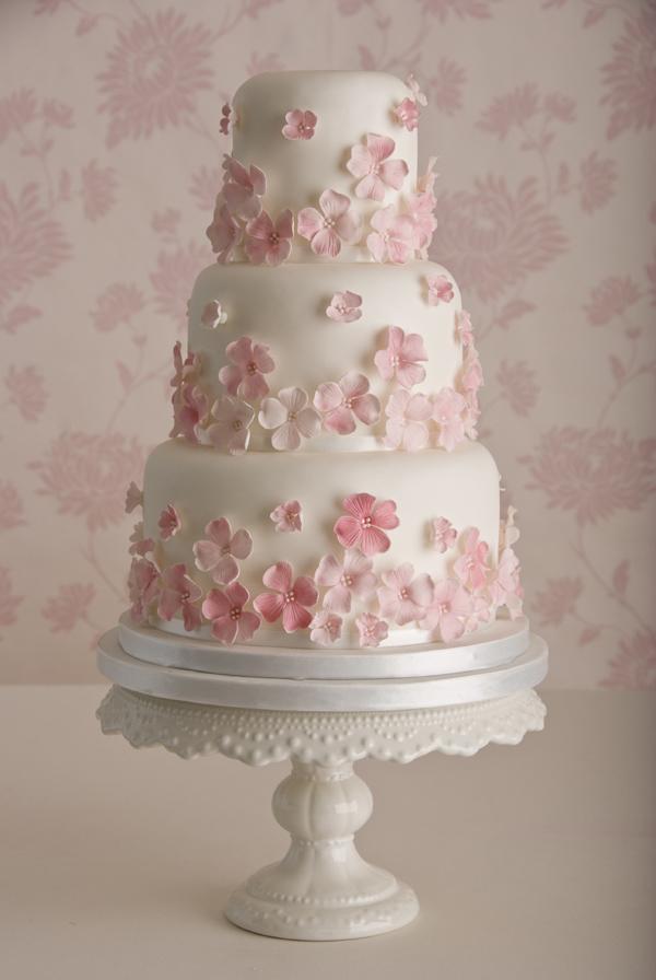 Pretty in pink cake by Maisie Fantaisie