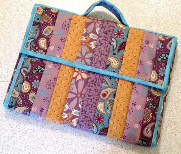 Quilted Laptop Tote Pattern