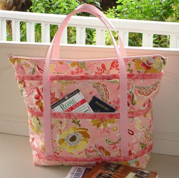 Quilted Traveler Tote