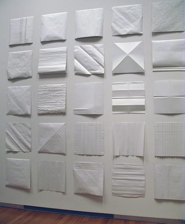 Renee Van der Stelt Paper Installation