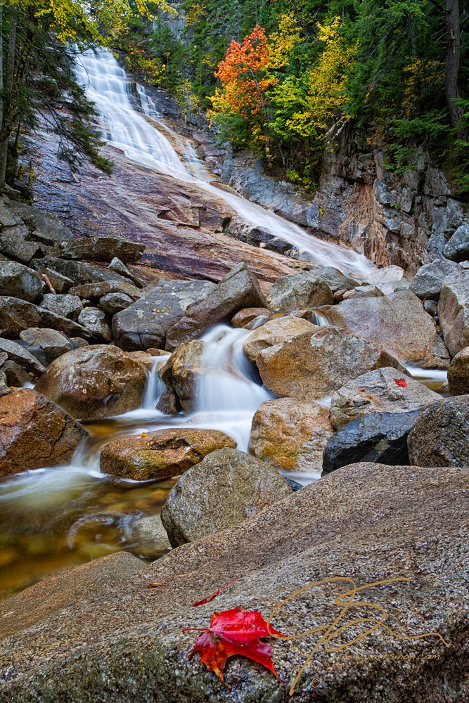 Vertical Waterfall Photography